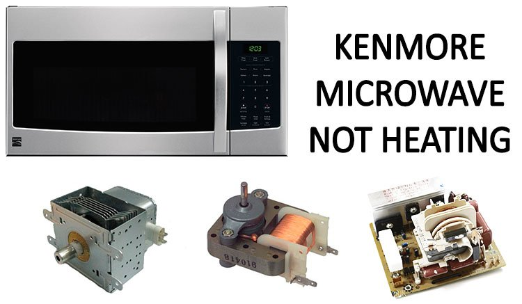 Kenmore microwave not heating